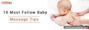 10 Must Follow Baby Massage Tips