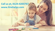 Our nannies well educated experienced and english speaking,  Call us